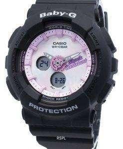 Casio Baby-G 아날로그 디지털 BA-120T-1A BA120T-1A 세계 시간 쿼츠 여성용 시계