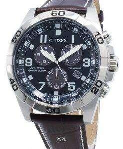 씨티즌 Brycen BL5551-06L 에코 드라이브 타키 미터 남성용 시계