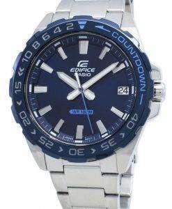 카시오 Edifice EFV-120DB-2AV EFV120DB-2AV 쿼츠 남성용 시계