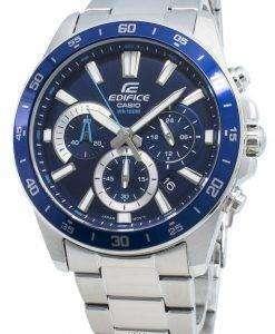카시오 Edifice EFV-570D-2AV EFV570D-2AV 쿼츠 크로노 그래프 남성용 시계