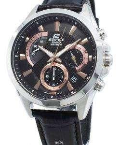 카시오 Edifice EFV-580L-1AV EFV580L-1AV 쿼츠 크로노 그래프 남성용 시계