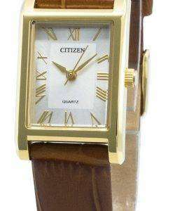 Citizen 시민 EJ6122-08A 쿼츠 여성용 시계