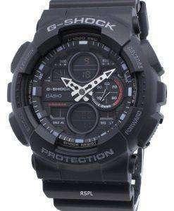 카시오 G-Shock GA-140-1A1 GA140-1A1 쿼츠 월드 타임 남성용 시계