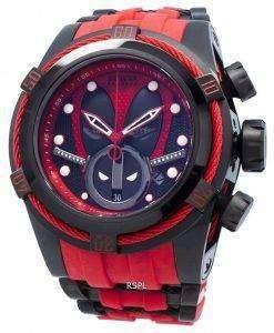 인빅타 마블 데드 풀 27152 크로노 그래프 오토매틱 200M 남성용 시계