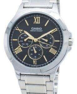 카시오 Enticer MTP-V300D-1A2 MTPV300D-1A2 크로노 그래프 쿼츠 남성용 시계