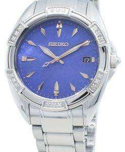 Seiko Classic SKK881P SKK881P1 SKK881 다이아몬드 악센트 쿼츠 여성용 시계