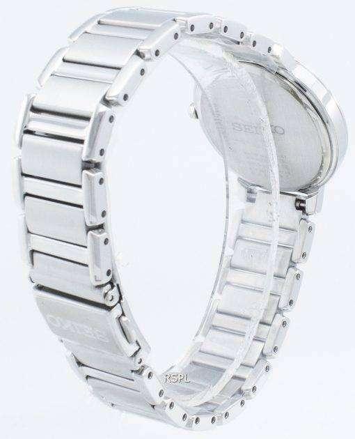세이코 Solar SUP431 SUP431P1 SUP431P 다이아몬드 악센트 여성용 시계