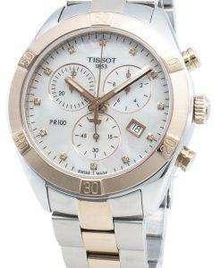 티쏘 T-Classic T101.917.22.116.00 쿼츠 크로노 그래프 여성용 시계