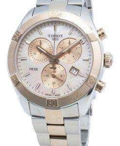 티쏘 T-Classic T101.917.22.151.00 T1019172215100 쿼츠 크로노 그래프 여성용 시계