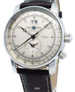 Zeppelin 100 Jahre 7640-1 76401 쿼츠 타키 미터 남성용 시계