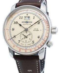 Zeppelin LZ126 로스 앤젤레스 8644-5 86445 쿼츠 맥 동계 남성용 시계