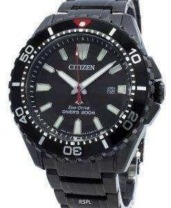 씨티즌 프로 마스터 다이버 BN0195-54E 에코 드라이브 200M 남성용 시계