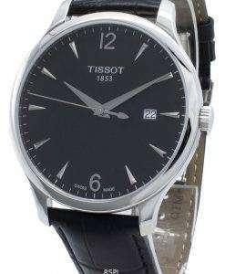 티쏘 T-Classic Tradition T063.610.16.057.00 T0636101605700 쿼츠 남성용 시계
