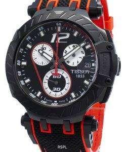 티쏘 T- 레이스 MotoGP T115.417.37.057.01 T1154173705701 타키 미터 쿼츠 남성용 시계
