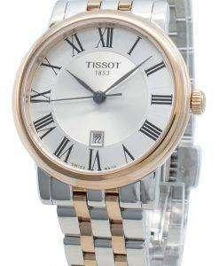 티쏘 카슨 프리미엄 T122.210.22.033.01 T1222102203301 쿼츠 여성용 시계