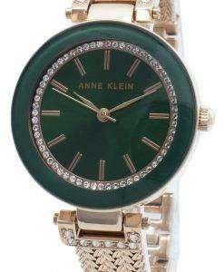 Anne Klein 1906GNRG 다이아몬드 악센트 쿼츠 여성용 시계