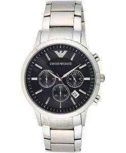엠포리오 아르마니 클래식 AR2434 크로노 그래프 쿼츠 남성용 시계