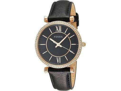 화석 ES4507 다이아몬드 악센트 쿼츠 여성용 시계