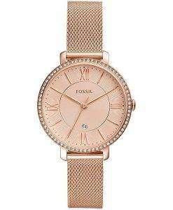 화석 재클린 ES4628 다이아몬드 악센트 쿼츠 여성용 시계