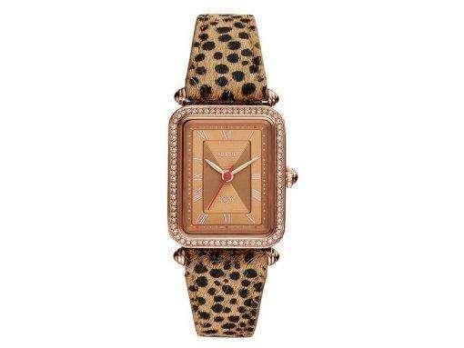 Fossil Lyric ES4684 다이아몬드 액센트 쿼츠 여성용 시계