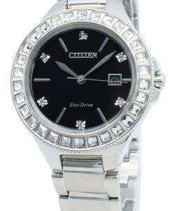 Citizen Silhouette FE1190-53E Diamond Accents 에코 드라이브 여성용 시계
