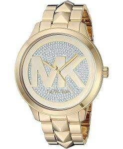 Michael Kors Runway Mercer MK6714 다이아몬드 악센트 쿼츠 여성용 시계