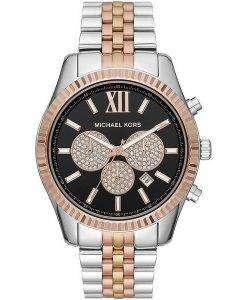 Michael Kors Lexington MK8714 다이아몬드 악센트 쿼츠 남성용 시계
