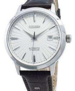 씨티즌 오토매틱 NJ2180-11A 티타늄 남성용 시계