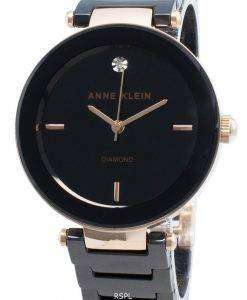 Montre Femme Anne Klein Diamond Accent 1018RGBK Quartz
