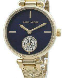 Anne Klein 3000NVGB Montre à quartz avec accents de diamants