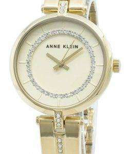 Anne Klein 3248CHGB Montre pour femme avec quartz et diamants
