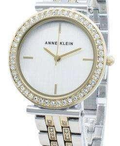 Anne Klein Montre pour femme AK-3409SVTT avec diamants et quartz