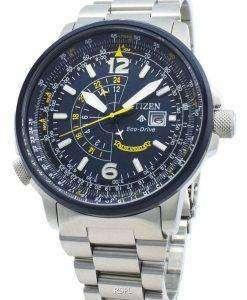 Citizen 시티즌 시계 Nighthawk BJ7006-56L 에코 드라이브 200M 남성용 시계