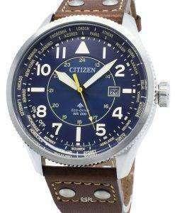씨티즌 Promaster Nighthawk BX1010-11L 월드 타임 에코 드라이브 200M 남성용 시계