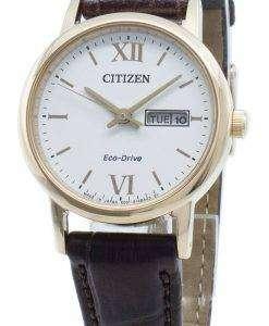 씨티즌 에코 드라이브 EW3252-07A 일본 제 여성용 시계