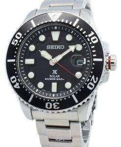 세이코 Prospex SBDJ017 Diver 200M Solar Japan Made 남성용 시계