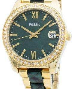 Fossil Scarlette Mini ES4676 Diamond Accents Quartz Women',s Watch