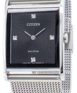 Citizen 시티즌 시계 에코 드라이브 Axiom BL6000-55E 다이아몬드 악센트 여성용 시계