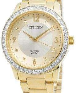 씨티즌 EL3092-86P 다이아몬드 악센트 쿼츠 여성용 시계