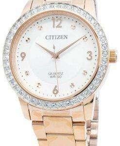 씨티즌 EL3093-83A 다이아몬드 악센트 쿼츠 여성용 시계