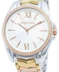 Michael Kors Whitney MK6686 다이아몬드 악센트 쿼츠 여성용 시계