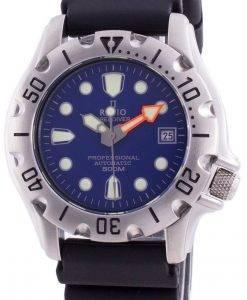 비율 무료 다이버 프로 페셔널 500M 사파이어 자동 32BJ202A-BLU 남자 시계