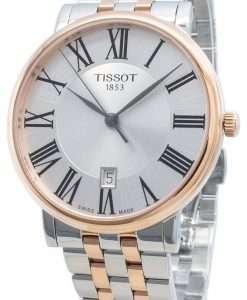 티쏘 Carson Premium T122.410.22.033.00 T1224102203300 쿼츠 남성용 시계