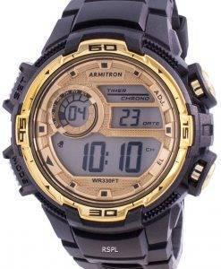 Armitron Sport 408347BKGD 쿼츠 남성용 시계