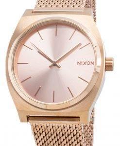 Nixon The Time Teller Milanese A1187-897-00 쿼츠 여성용 시계