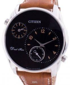Citizen 시티즌 시계 Dual Time AO3030-08E 쿼츠 남성용 시계