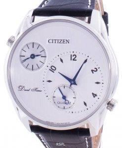 Citizen 시티즌 시계 Dual Time AO3030-24A 쿼츠 남성용 시계