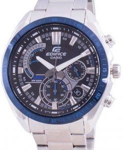 카시오 Edifice EFR-570DB-1BV 쿼츠 크로노 그래프 남성용 시계