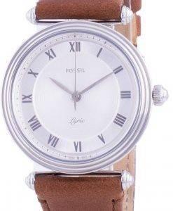 화석 가사 ES4706 쿼츠 여성용 시계