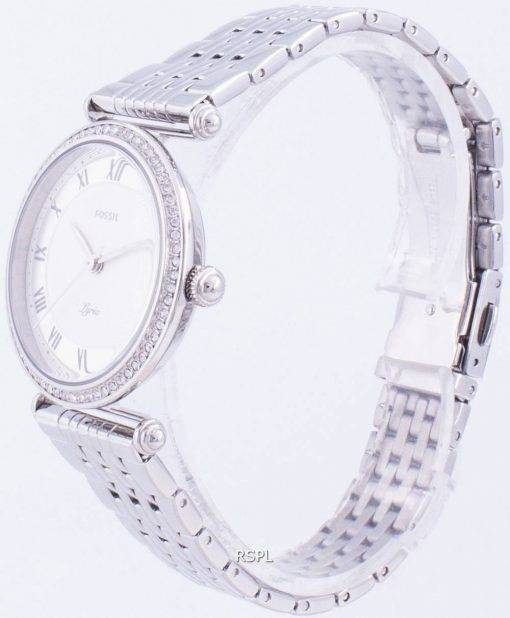 화석 가사 ES4712 쿼츠 다이아몬드 악센트 여성용 시계
